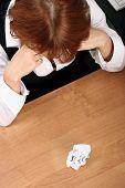 Businesswoman Pain