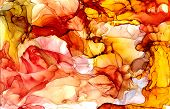 Alcohol Ink Texture. Fluid Ink Abstract Background. Art For Design. poster