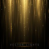 Glowing Magic Light Effect And Long Trails Fire Motion, Vector Art And Illustration.abstract Glow Li poster