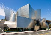 LOS ANGELES - SEPTEMBER 5: Walt Disney Concert Hall in Los Angeles, CA on September 5, 2011. The hal