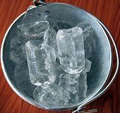 Ice Bucket Closeup