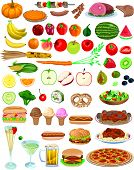 Vector Food Items