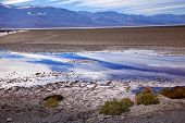 Badwater Panamint Mountains Death Valley National Park California