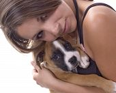 Mom And Boxer
