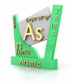 picture of arsenic  - Arsenic form Periodic Table of Elements  - JPG