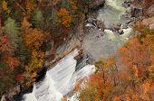 Rapids In A Gorge