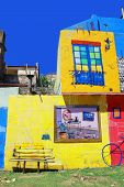 The landmark house in La Boca