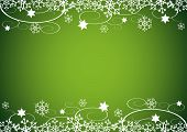 Christmas / New Year'S Background (Green)