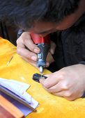 Chinese Street Engraver