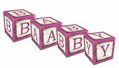 Baby Blocks Pink
