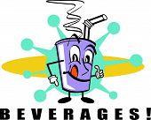 Beverages Clip Art
