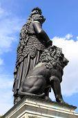 Statue Bavaria in Munich