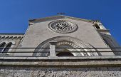 stock photo of messina  - Cathedral Castelmola bottom view of the country in Messina  - JPG