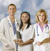 Hospital Team Of Three