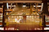 Indian Sari Weaver Hand Loom Inside