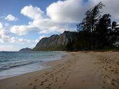 Waimanalo Beach On Oahu, Hawaii