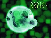 Radioactive Hulk Organic Cell With Text