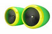 Jet engine turbines