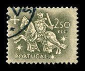Briefmarke der portugiesischen Post