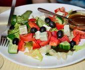Greece Salad.