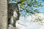 Постер, плакат: Скульптура короля Людвига