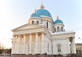 Cathedral Of The Holy Trinity Church Of The Life-guards Izmailovo Regiment