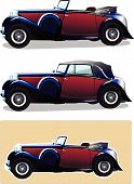 Vintage car.eps