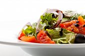 stock photo of black-cherry  - Greek Salad  - JPG