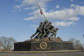 die Iwo Jima memorial