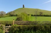 Somerset Glastonbury Tor England