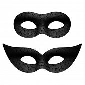 Masquerade eye mask. Vector.
