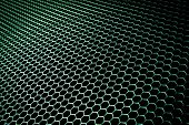 picture of nano  - abstract metal grid background - JPG