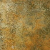 art abstract grunge cement textured background in sepia, grey and orange colors