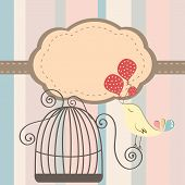 Cage Bird Invitation