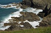 stock photo of inlet  - A craggy - JPG