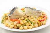 stock photo of cod  - traditional christmas portuguese dish  - JPG