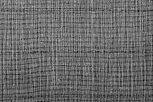 Texture Of A Black Straw Mat