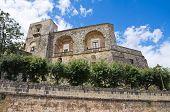 Castle of Ugento. Puglia. Italy.