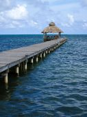 Jetty At Ambergris Caye