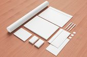 stock photo of letterhead  - Blank Stationery  - JPG