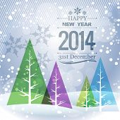 stylish winter new year seasonal holiday greeting