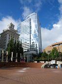 Pioneer Square In Portland, Oregon, Usa