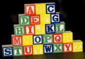A-z Alphabet Blocks