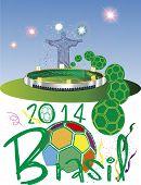 Brazil 2014 stadium fotball