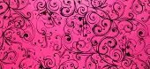 Pink Swirly Black