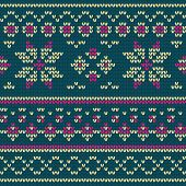 picture of bangladesh  - Illustration of a knitted texture with beige and violet stripes and floral pattern on Bangladesh green - JPG