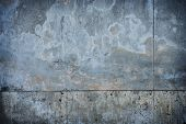 Old and grungy concrete wall.