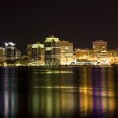 image of dartmouth  - Night time view of the Halifax - JPG