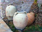 Three Amphoras