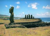 Religion Sculpture On Easter Island